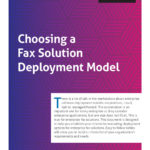 download choosing a fax solution deployment model whitepaper