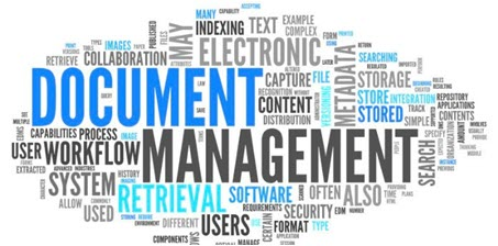 document management word cloud