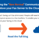 "Planning the ""New Normal"" Communications? Move your Fax Server to the Cloud!"