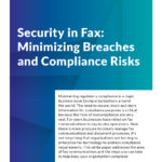 download security in fax whitepaper
