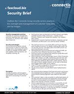 FaxCloud Security Brief