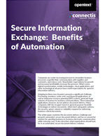 Secure Information Exchange Benefits of Fax Automation