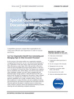 justify a document management solution