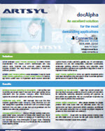 docAlpha brochure automated document capture processing Canada US