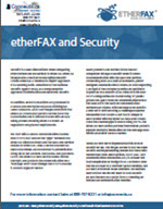 etherfax security brochure Canada USA
